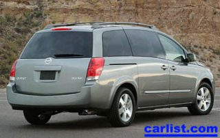 2006 Nissan Quest rear view