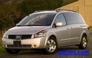 2006 Nissan Quest front view