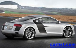 2008 Audi R8 Coupe quattro rear view