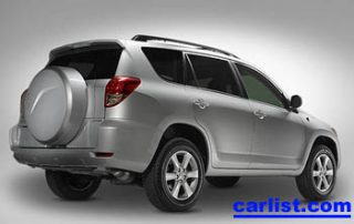 2006 Toyota RAV4 rear perspective