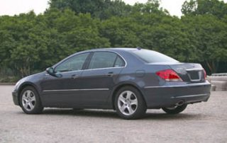 2006 Acura RL rearview