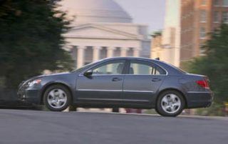 2006 Acura RL side view