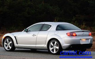 2008 Mazda RX-8  rear view