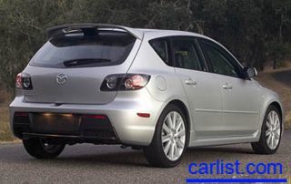 2008 Mazda MAZDASPEED3 rear shot