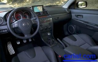 2008 Mazda MAZDASPEED3 interior