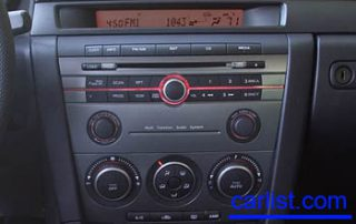 2008 Mazda MAZDASPEED3 controls