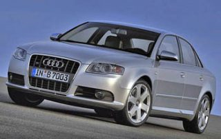 2006 Audi S4 front view