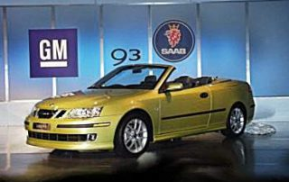 2004 Saab 9-3 unveiled at the Geneva Motor Show