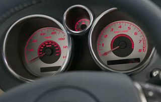 2007 Pontiac Solstice gauge display