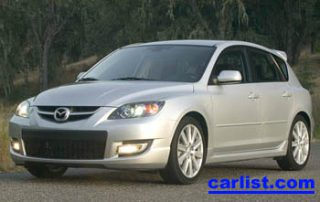 2007 MazdaSpeed3 GT front view