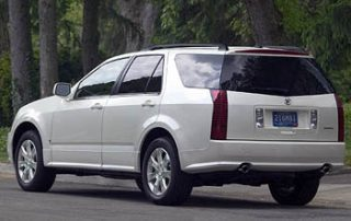 2007 Cadillac SRX new car review