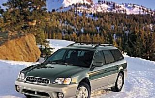 2004 Subaru Outback in its natural setting