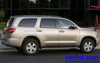 2008 Toyota Sequoia rear shot