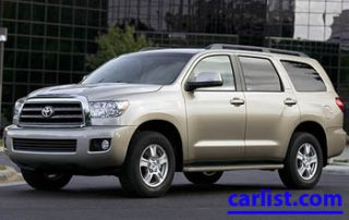 2008 Toyota Sequoia front view