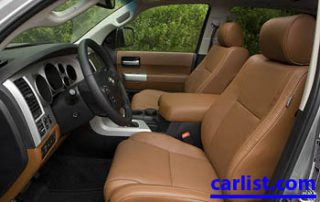 2008 Toyota Sequoia interior
