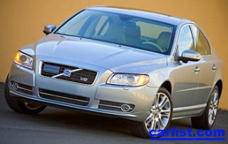 2007 Volvo S80 front view