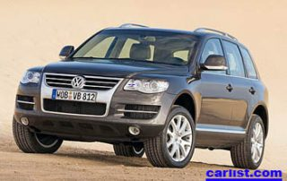 2008 Volkswagen Touareg2 front view