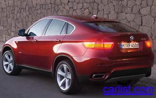 2008 BMW X6 rear shot