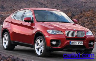 2008 BMW X6 front view