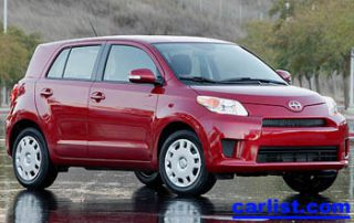 2008 Scion xD front view
