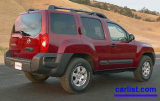 2008 Nissan Xterra rear shot